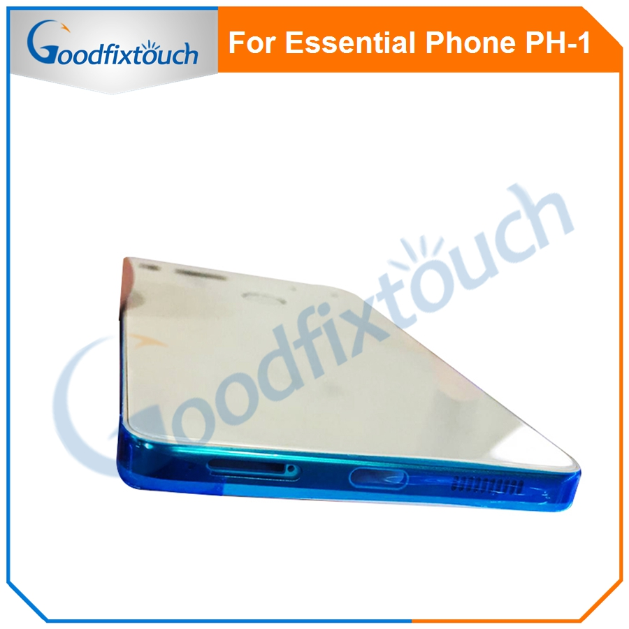 For Essential Phone Ph-1 PH 1 Rear Back Battery Cover Door Ceramics Glass Housing With Fingerprint Camera Glass Raplacement Part (5)