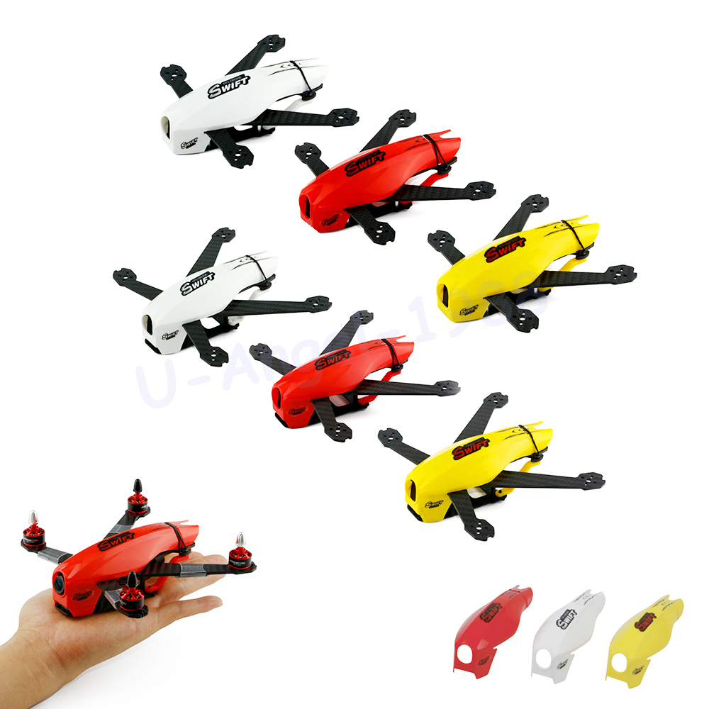 1set Kingkong SWIFT 135 165 Quadcopter Cover Hood for Racing FPV Airplane DIY Spare Part<br><br>Aliexpress