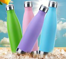 500ML New Swell Coke Bottle Creative Double Wall 304 Stainless Steel Insulated Vacuum Bottle Starbuck Coffee Cola Shape Cup