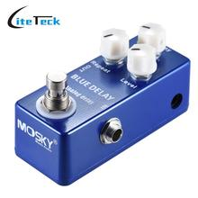 Mini Analog Delay Guitar Effect Pedal True Bypass High Quality Zinc-aluminium Alloy Body Guitar Parts & Accessories