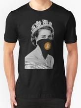 Buy Queen Bitcoin Bandit Geek Crew Neck Zomer Men's Women's Short Sleeve T-Shirt Comical Shirt Men's for $13.99 in AliExpress store