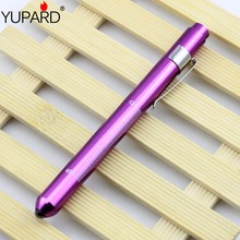 YUPARD Doctors clinical pen light LED flashlight mouth ear care inspection lamp medical pen light by 2 AAA batteries First Aid