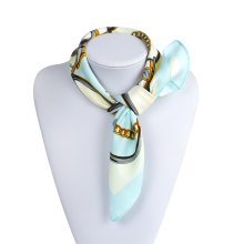 100% Twill Silk Scarf Women Ladies 2016 Fashion Luxury Designer Brand Scarf High Quality Square Scarves Female Echarpes(China)