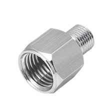 1/4inch BSP Female to 1/8inch BSP Male Fitting Conversion Adapter Bushing, Connector for Airbrush Hoses and Compressors  CLH@8