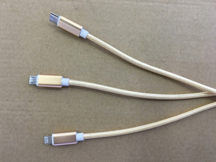 3 in 1 USB font b Cable b font font b Type C b font font