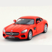 KINSMART 13cm 1:36 Diecast Metal Cars Toy, Simulation AMG GT Eductional & Pull Back Toys / Brinquedos, Models For Children