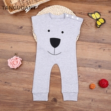 TANGUOANT Hot Sale Newborn Autumn Winter Rompers Cute Toddler Baby Girl Boy Bear Jumpers Rompers Playsuit Outfits Clothes 0-18M(China)