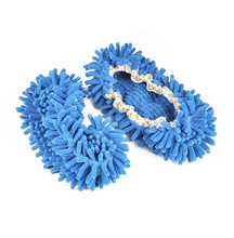 Multifunction Microfiber Dust Mop Slippers Novelty Bedroom Slippers Home Cleaning Shoes Cover