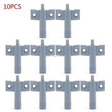 10 x Kitchen Cabinet Door Drawer Soft Quiet Close Closer Damper Buffers + Screws -B119