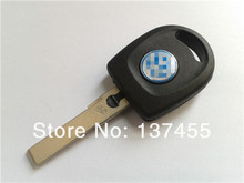 Horande replcaement key blank for vw passat transponder key shell with light wholesale