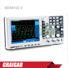 "SDS8102V OWON 8"" LCD Display Deep memory Dual Channels digital storage oscilloscope 100MHz/SVGA output(China)"