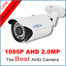 1920*1080P AHD Security Camera 3000TVL Outdoor Micro Bullet Cam 2MP CCTV Surveillance Cam Cmos Sensor Free Power Supply Adaptor