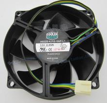 Master Cooler  9cm 12V 0.65A A9225-42RB-6AP-L1 4 wire CPU PWM fan
