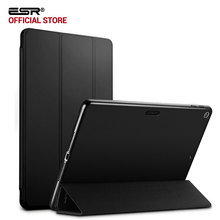 Case for iPad 9.7 inch 2017, ESR Yippee Color PU Leather+Ultra Slim Light Weight PC Back Cover Case for iPad 9.7 2017 New model(China)
