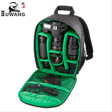 2017 Huwang Multifunction Waterproof Shockproof Digital DSLR mini Backpack Camera Bag Video Photo Bags for Canon Nikon Sony