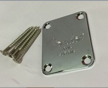 MSOR Electric Guitar Neck Plate Neck Plate Fix Guitar Neck Joint Board - Including Screws(China)