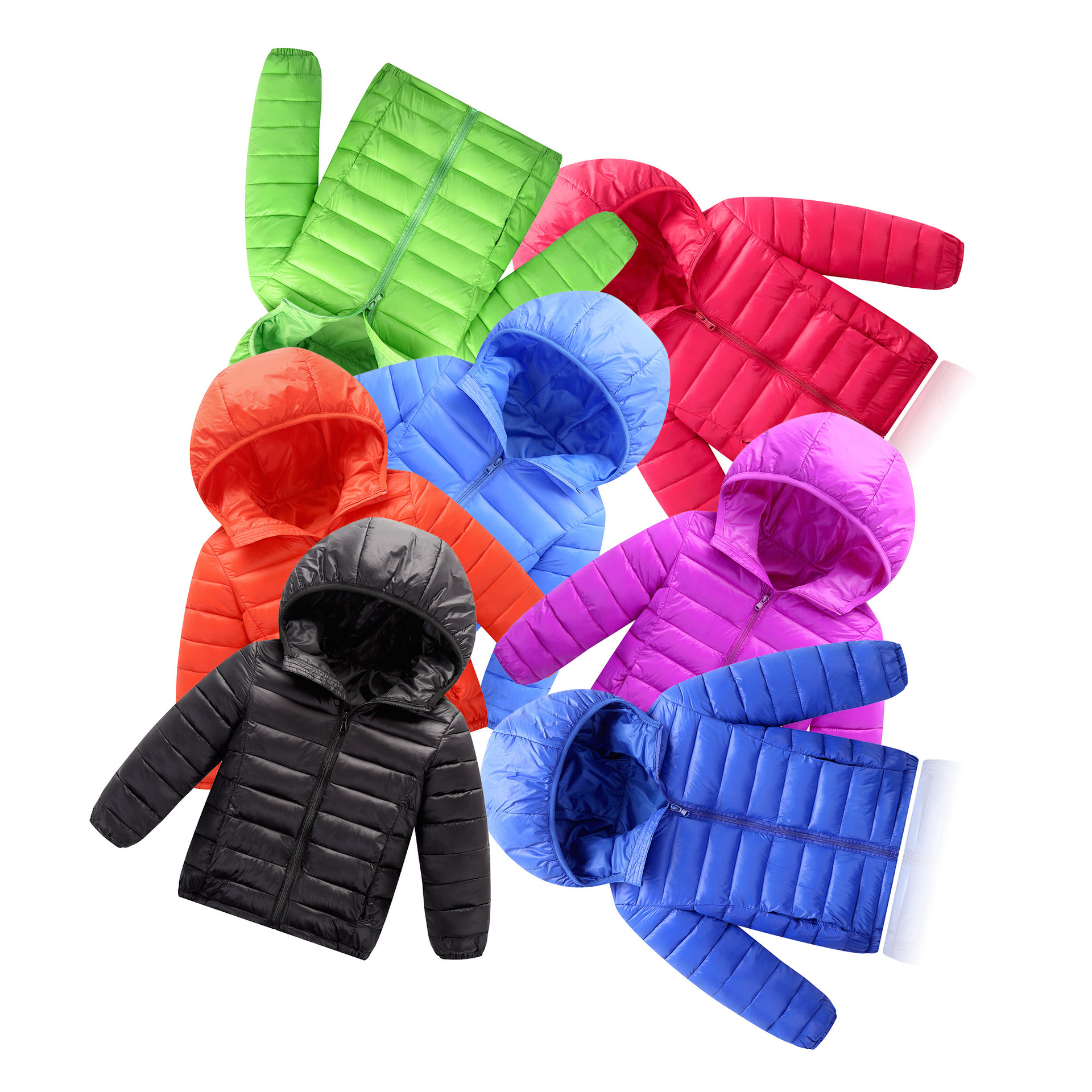 New version 2017 Baby clothes Childrens winter jacket Boys and girls Pure cotton down Kids Outerwears for cold degree jacket<br>