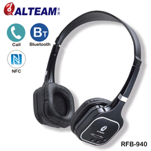 Best Professional Brand Portable On Ear Wireless Stereo BT Bleutooth Blutooth Blue tooth Bluetooth Headphone Headset with Mic(Taiwan)