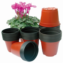 100pcs garden pots plants flowers garden pots plastic soft floor vases wholesales garden supplier