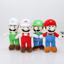 10'' 25cm Super Mario Plush Dolls Super Mario Soft Plush Mario Luigi Mario Bros Plush Toys(China)