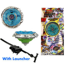 Metal Beyblade Burst Metal Fusion 4D Launcher Beyblade Metal Fusion Set Spinning Top Beyblade for Kids Birthday Gift TL06(China)