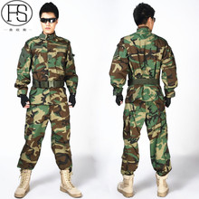 Military Tactical Gear Sniper Camouflage Suits Digital Camouflage Uniform Tactical Jacket and Pants Multicolor For Your Choice(China)