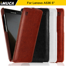 iMUCA Case for Lenovo A536 Cover Case Luxury Flip PU Leather Case Capa for Lenovo A536 A 536 A358T Cover Mobile Phone Bags Cases