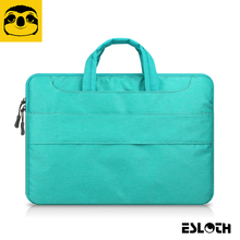 Green Portable Air/Pro 11 12 13 14 15.4 15.6 inch Messenger Portable Laptop Bags For MacBook Samsung Lenovo HP Acer Notebook