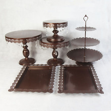 6 pieces cake stands children party cupcake stand decorating cooking cake tools bakeware set party dinnerware