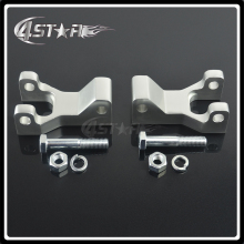 Motorcycle Part Aluminum ATV Front Lowering Kit For HONDA TRX 450R TRX450R YZF450 YZ450F RAPTOR 700 RAPTOR700 SILVER(China)