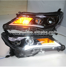 FOR TOYOTA RAV4 LED strip head lamp LD 2013-2014 year(China)