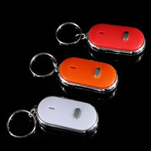 Keychain smart found key whistle Key finder-Gadget for sound air heads 10pcs