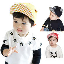 Baby Summer Hat Baseball Cap Mickey Hand Embroider with 2 Ears Baby Boy Beret Baby Girls Sun Hat Cap kids