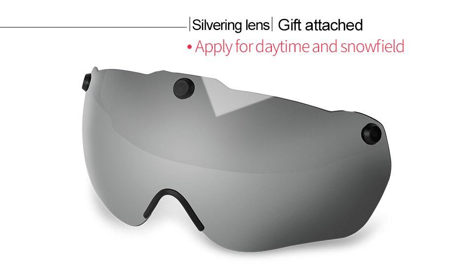خوذة مع ضوء نظارات للرجال و النساء 2