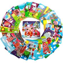 1 Piece 15*15cm Baby Cartoon Animal Wooden Jigsaw Puzzles Board Children Kids Toys Educational Early Learning Fun Games GYH