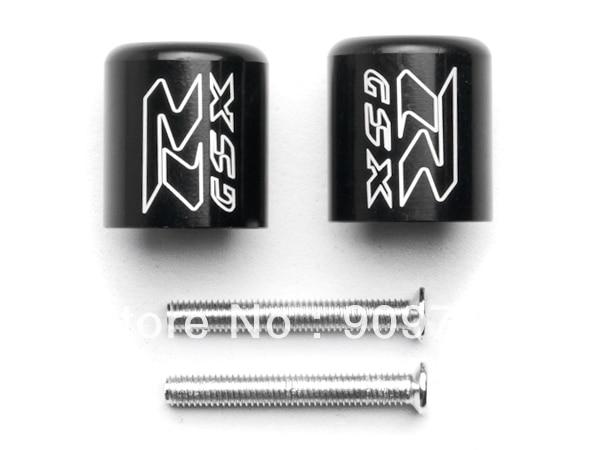 Free Shipping Black Engraved Bar Ends Weights Sliders For Suzuki GSXR 600 750 1000 Hayabusa<br><br>Aliexpress