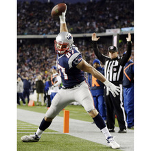J0405- New England Patriots Rob Gronkowski NFL Football Pop 14x21 24x36 Inches Silk Art Poster Top Fabric Print Home Wall Decor