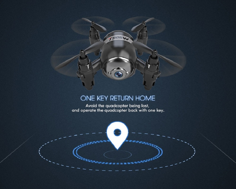 Mini Drone avec Caméra HD Quadcopter 3D