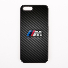 cool black for bmw M series symbol cover case for iPhone 4 4s 5 5s 5c se 6 6S 7 Plus iPod Touch 4 5 6(China)