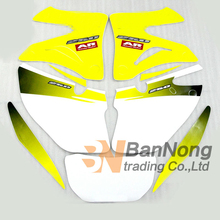 Free shipping Dirt Motorcycle Complete Graphic Kit Dirt Bike Sticker Fuel Tank Decal Gas Tank Decals For CRM250AR CRM250 AR(China)