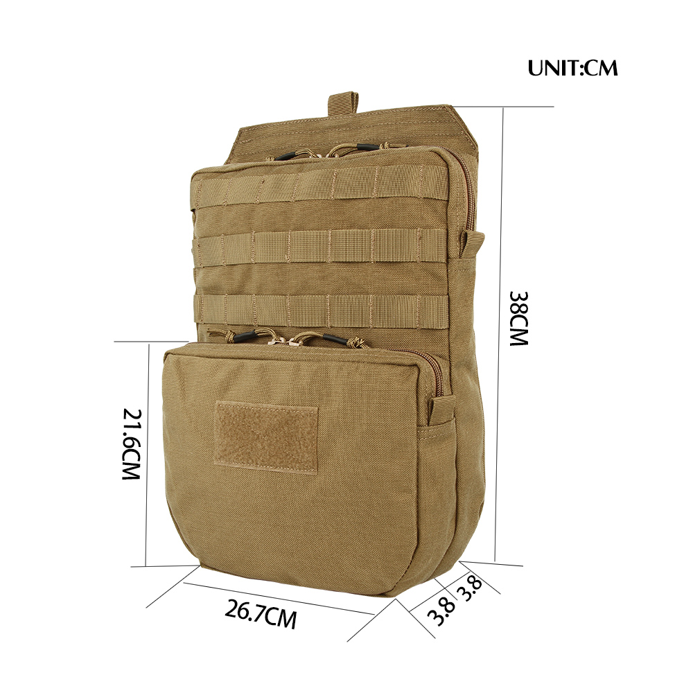 Tactical Hydration Bag Hunting Combat Vest Hydration Pouch Camo Bags Outdoor Vest Equipment Pouch