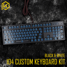 Custom Mechanical Keyboard Kit 104 keys kinds of led effects PCB 100% keycool Gaming Keyboard LED Backlight Available(China)