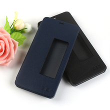 Elephone S7 PU Leather Case With View Window Original Flip Cover In 2 Colors for Elephone S7 Mobile Phone Accessories