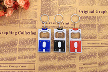The new LED keychain with lamp opener Keychain pendant led Keychain manufacturers selling(China)