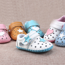 Soft Leather Sole Baby Shoes Moccasin For Small Scarpette Neonata Infant Crib Shoes First Walkers Polo Baby Items 503084(China)