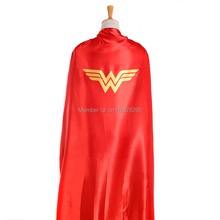 55inch/140cm Wonder Woman cape for adults(China)