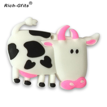Stocks Promotional Gifts 3D silicon Cartoon sheep fridge magnetic decoration Stickers (RC-R-008)(China)