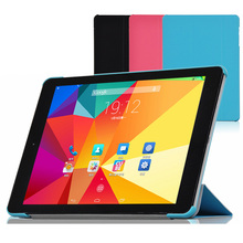 "3-Folding Ultra Thin Slim Shell Sleeve Folio Stand PU Leather Skin Case Cover For Cube TALK9X Talk 9X U65GT 9.7"" Tablet"