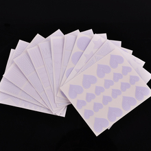 12pcs/set Nail Art Tips Guide Hollow Sticker Acrylic Crystal French Manicure Template 3D Stencil Decals Form Styling Tool(China)