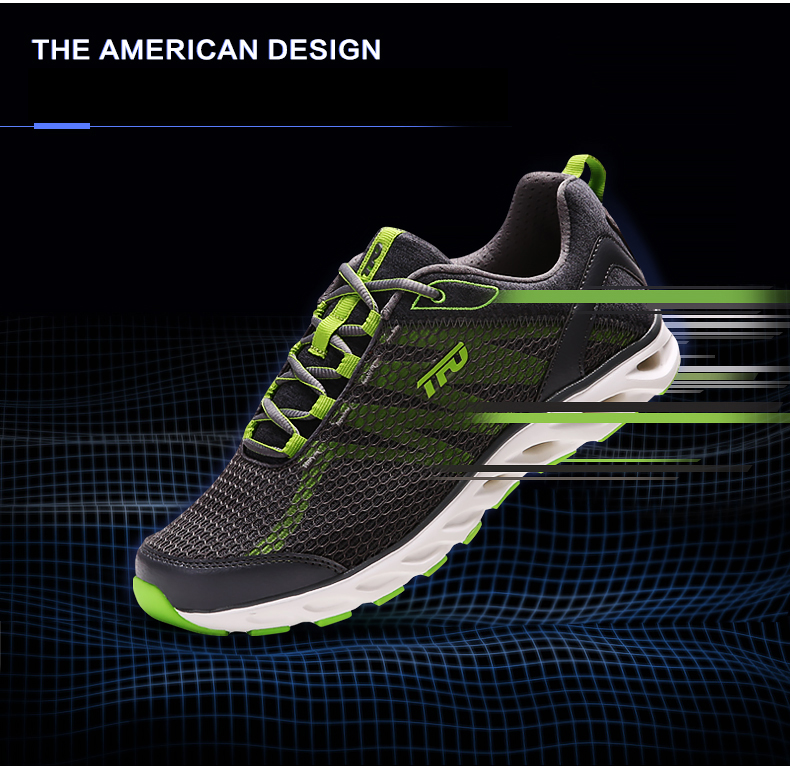 TFO Outdoor Running Shoes For Man Summer Light Weight Mesh Breathable Sneakers Lovers Outdoor Sport Shoes Lace-Up 851708 4